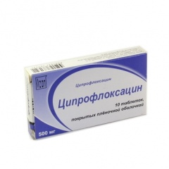 ципрофлоксацин при циститах