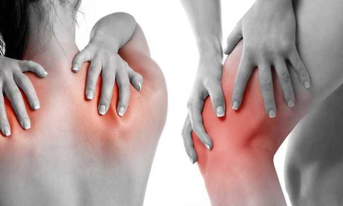 Препарат применяется при мышечных болях
