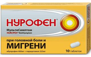 Результаты применения Нурофен Мультисимптом при болях и воспалении почек