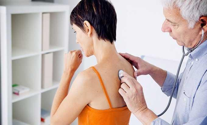 Побочные действия препарата могут проявиться нарушениями функций дыхательной системы