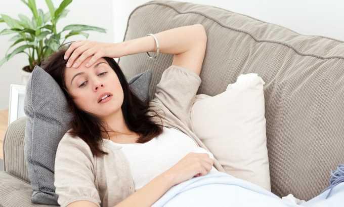 Слабость - симптом пиелонефрита