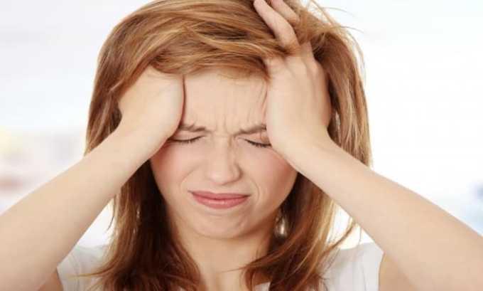 Побочное явление от препарата может проявляться в головной боли