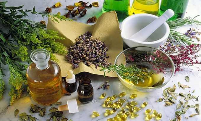 Могут быть использованы гомеопатические лекарства для восстановления тканей, улучшения циркуляции жидкостей и ускорения вывода возбудителей и продуктов распада