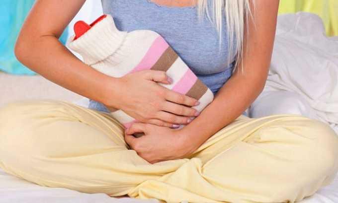 Если возникли признаки цистита, нужно сухое тепло. Можно положить на живот грелку или укрыться одеялом