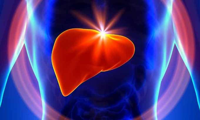 Аспирин противопоказан при хронических заболеваниях печени