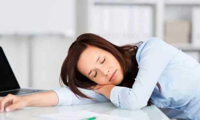 При избыточном употреблении лекарства может возникнуть сонливость