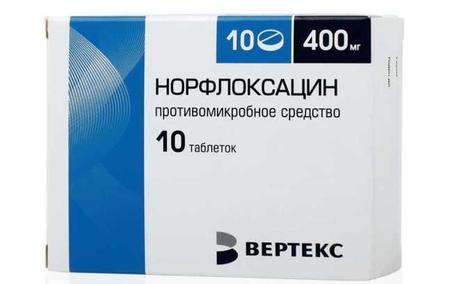 Норфлоксацин используют для лечения хронического цистита