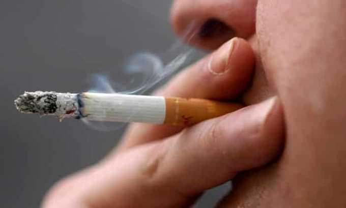 К относительным ограничениям препарата относят курение