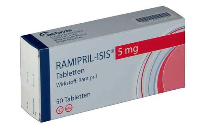 Стоимость 30 таблеток Рамиприла российских фирм-производителей - 150 руб