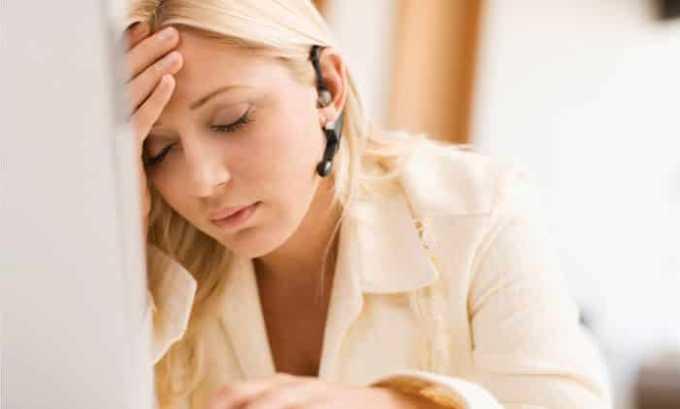 Лекарство оказывает седативное действие