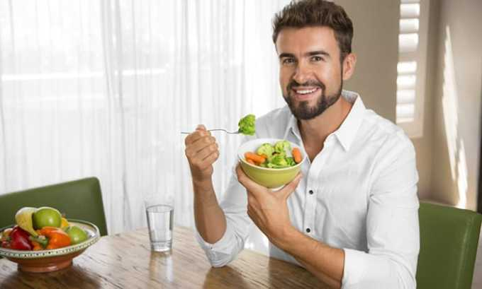Принимать таблетки можно как перед едой, так и между приемами пищи