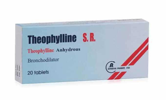 Препарат ускоряет метаболизм Теофиллина