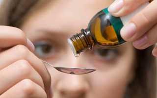 Применение капель для лечения цистита