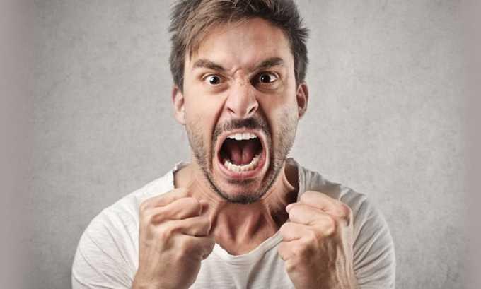 Немотивируемая агрессия по отношению к людям и животным - одно из показаний к применению препарата