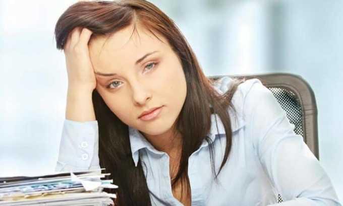 Слабость проявляется вследствие передозировки препарата