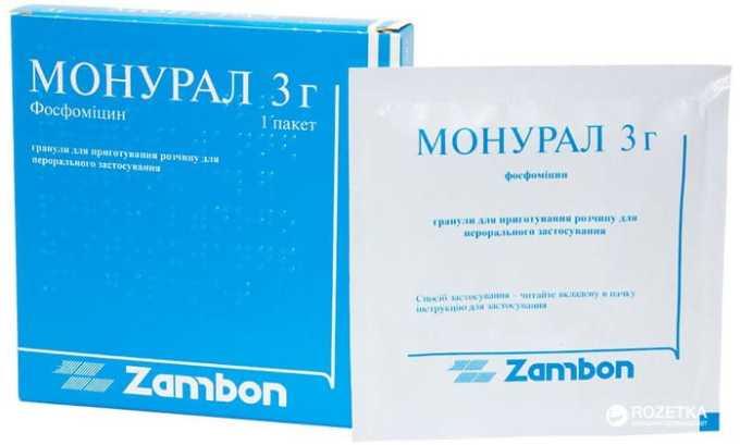 Для предотвращения рецидива применяeтся такой препарат, например, как монурал. Обладает широким спектром действия. Не назначается при болезнях печени