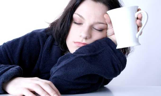 От длительного приема препарата у пациента может наблюдаться сонливость
