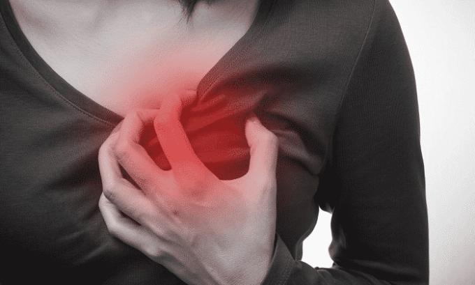 Боли в сердце, тахикардия — побочные действия препарата