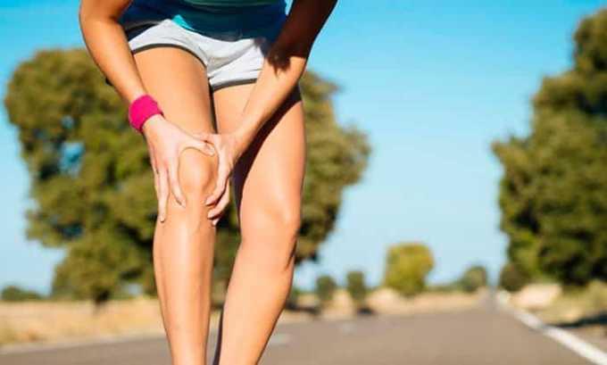 Для снятия боли слабой и умеренной интенсивности показаниями к назначению являются суставные боли