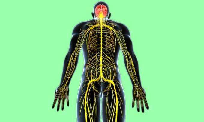 Активный компонент лекарства не проникает в отделы нервной системы