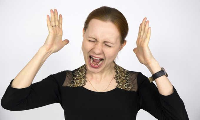 Препарат помагает снизить нервную возбудимость, устранить нервное напряжение