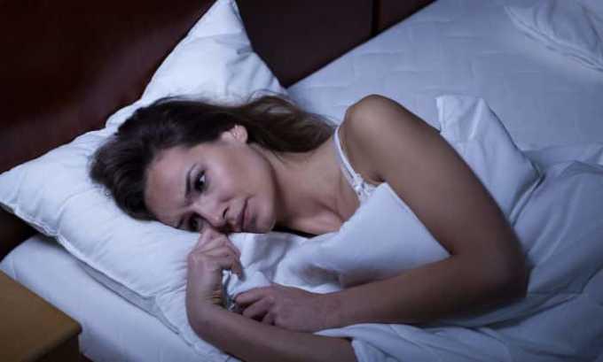 Побочным эффектом от препарата может быть нарушение сна