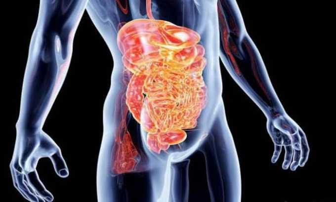 В инструкции прописано, что лекарственное средство запрещается принимать при воспалении органов пищеварительного тракта