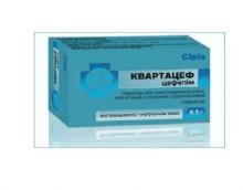 Квартацеф — средство для борьбы с заболеваниями мочевыводящих путей