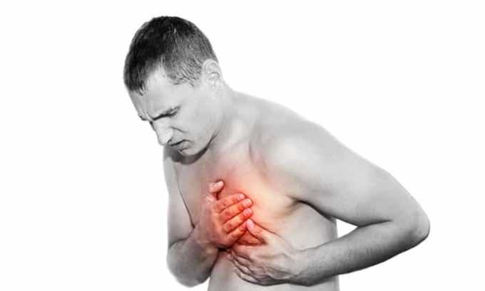 Побочный эффект может проявиться ввиде боли в области сердца