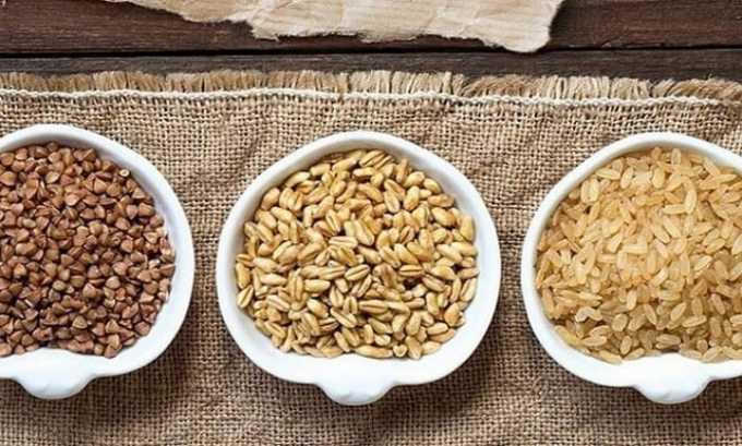 Аминокислота содержится в овесе, пшенице, гречихе