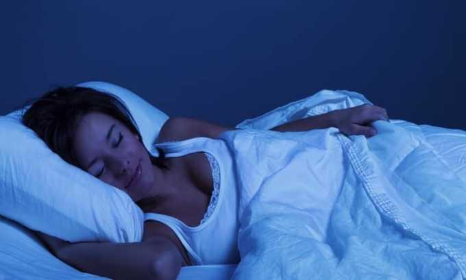 Препарат помогает заснуть и улучшает сон