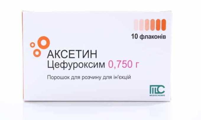Аксетин - аналог препарата Зинацеф