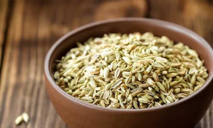 В почечный фитосбор входят семена укропа