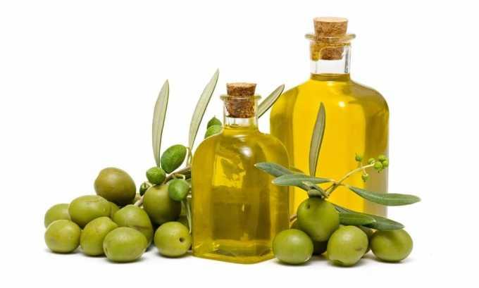 При хроническом цистите разрешено употреблять оливковое масло (20 мл в сутки)