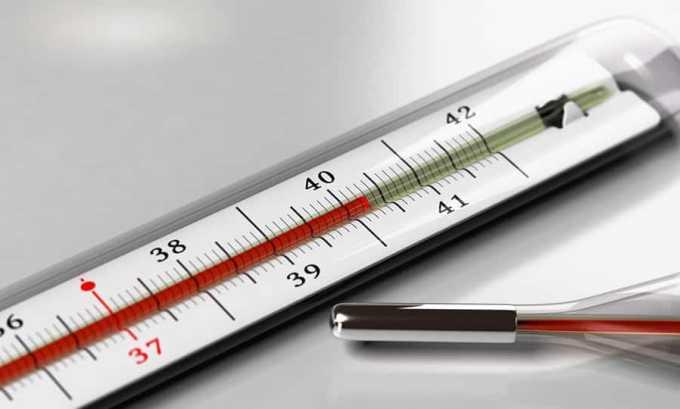 Аспирин и ацетилсалициловую кислоту применяют при высокой температуре