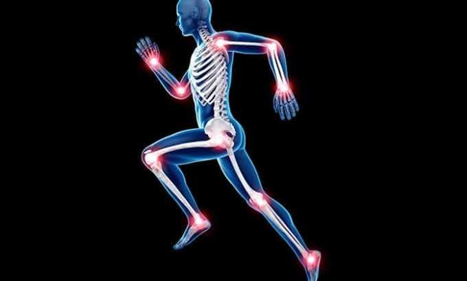 Показания к применению - инфекции, поражающие суставы и кости