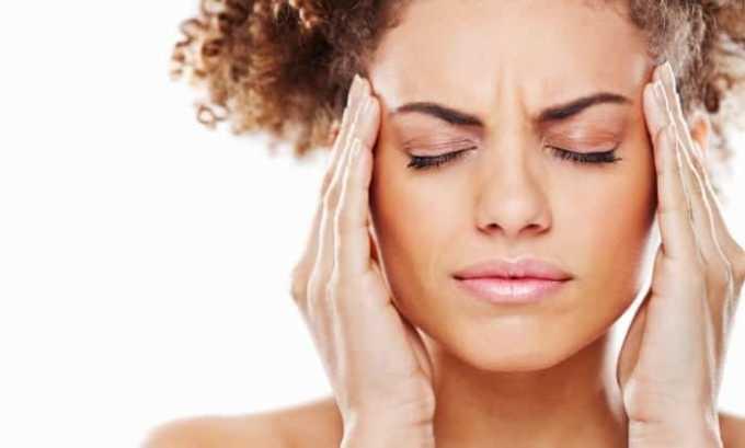 Препарат применяют при головных болях