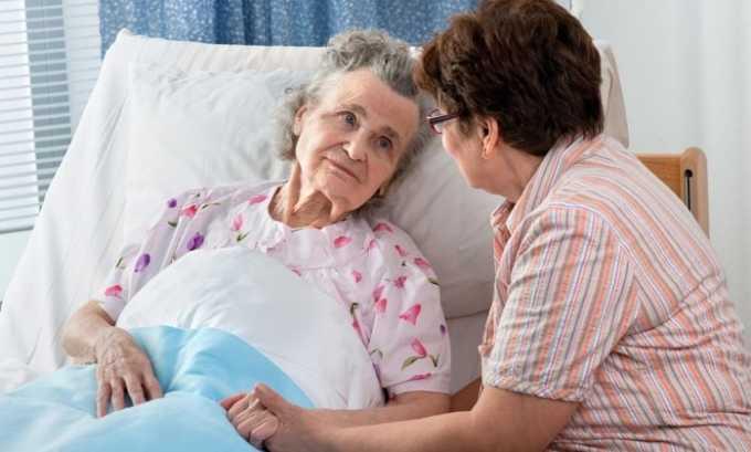 Необходима консультация специалиста, если речь идет о пациентах пожилого возраста