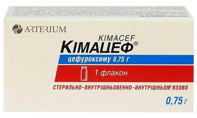 Зинацид можно заменить препаратом Кимацеф