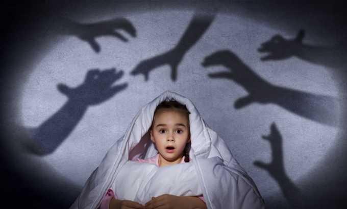 Ночные кошмары - один из побочных эффектов на прием препарата