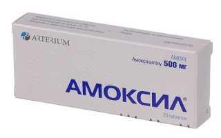 Почему при инфекции почек и мочевыводящих путей назначают Амоксил 500?