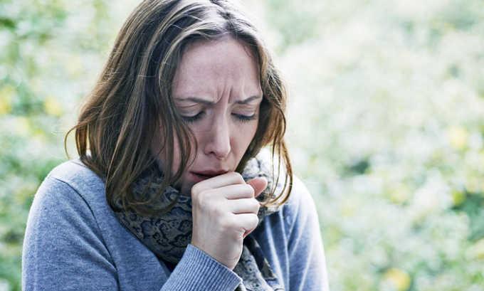 При лечении возможно появление кашля