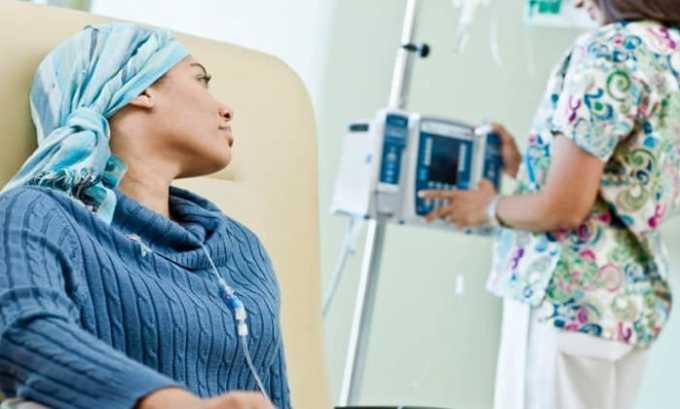 Препарат применяется при прохождении химиотерапии
