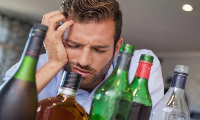 Глицин используется как составляющая комплексного лечения алкогольного абстинентного синдрома