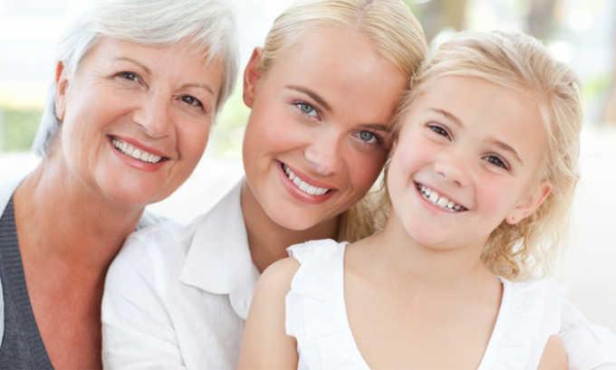 Схема приема зависит от состояния больного и его возраста