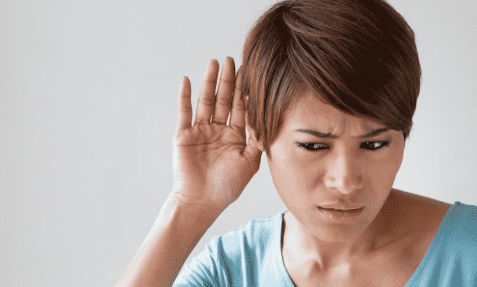 Препарат может стать причиной звона в ушах