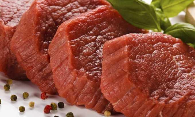 Аминокислота содержится в нежирной говядине