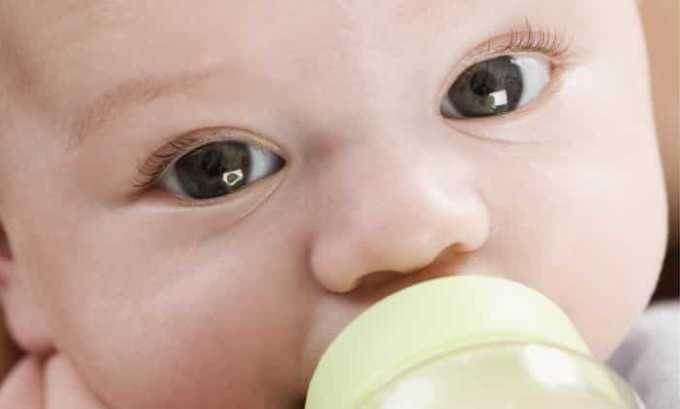 Возраст до 6 месяцев - противопоказание к применению препарата