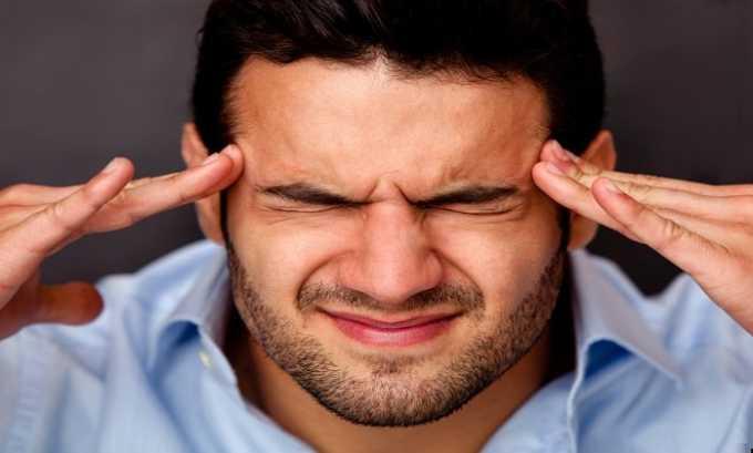 При избыточном употреблении лекарства может возникнуть головная боль