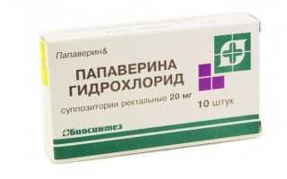 Результаты применения Папаверина Гидрохлорида при почечной колике
